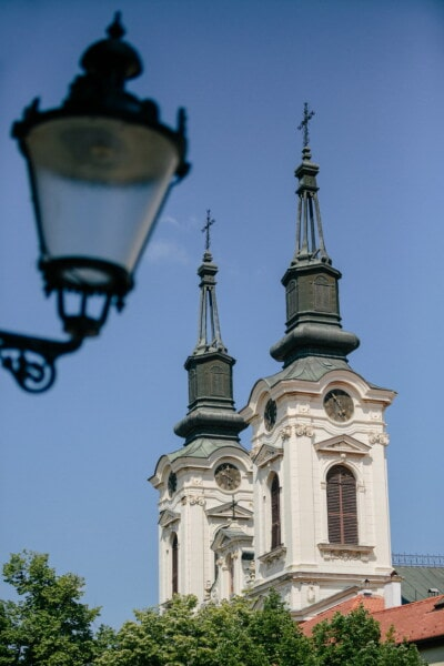 church tower, tower, cast iron, lantern, cathedral, architecture, minaret, dome, church, building