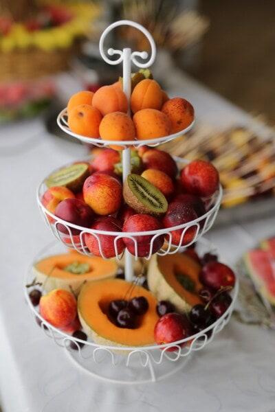 Kiwi, frukt, fersken, aprikos, mat, diett, sitrus, helse, frisk, sunn