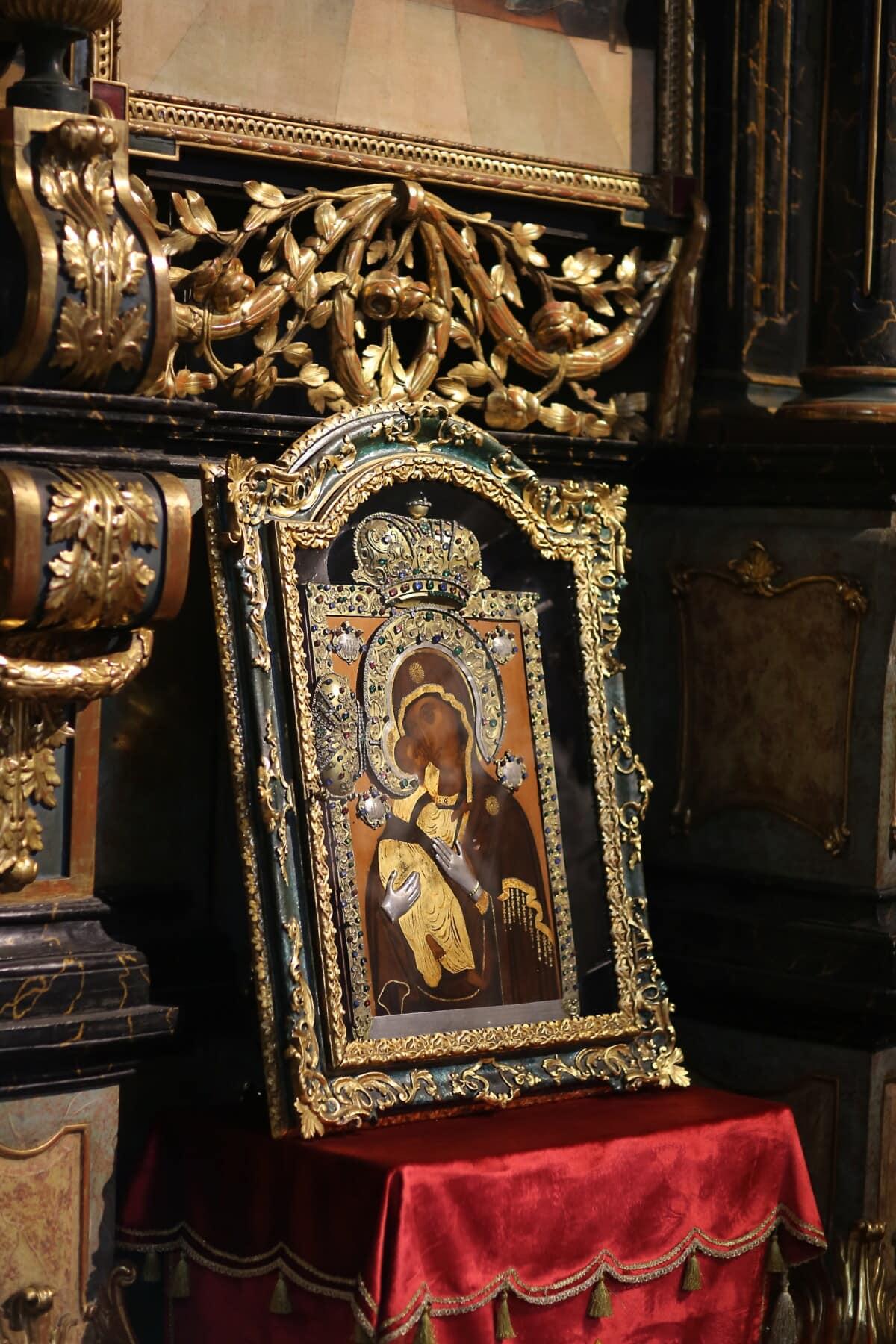 orthodoxe, icône, Christianisme, Christ, ornement, beaux arts, antiquité, art, architecture, religion