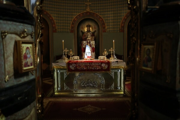 Serbia, orthodox, church, altar, Byzantine, spirituality, saint, icon, religion, candle
