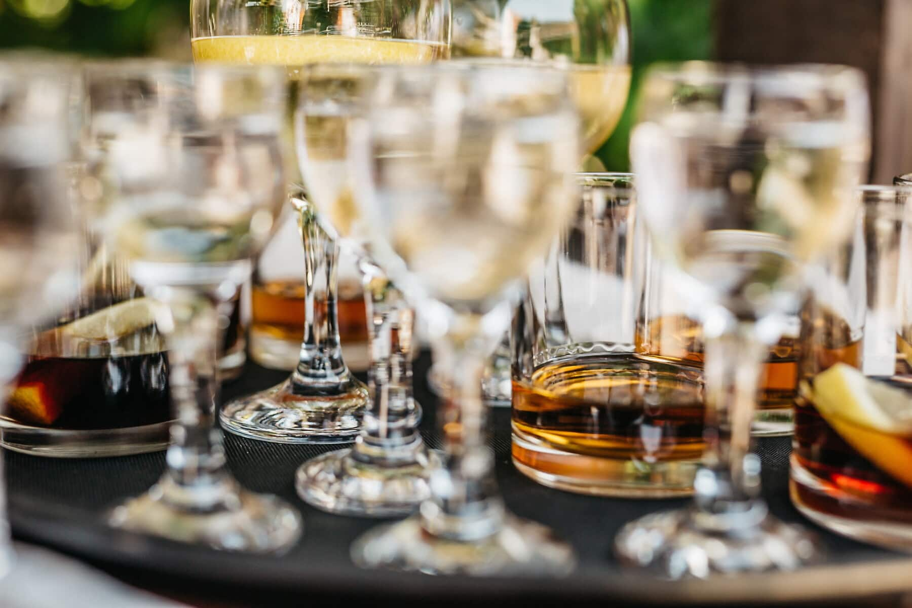 white wine, cocktails, alcohol, glass, banquet, table, wine, drink, dining, luxury