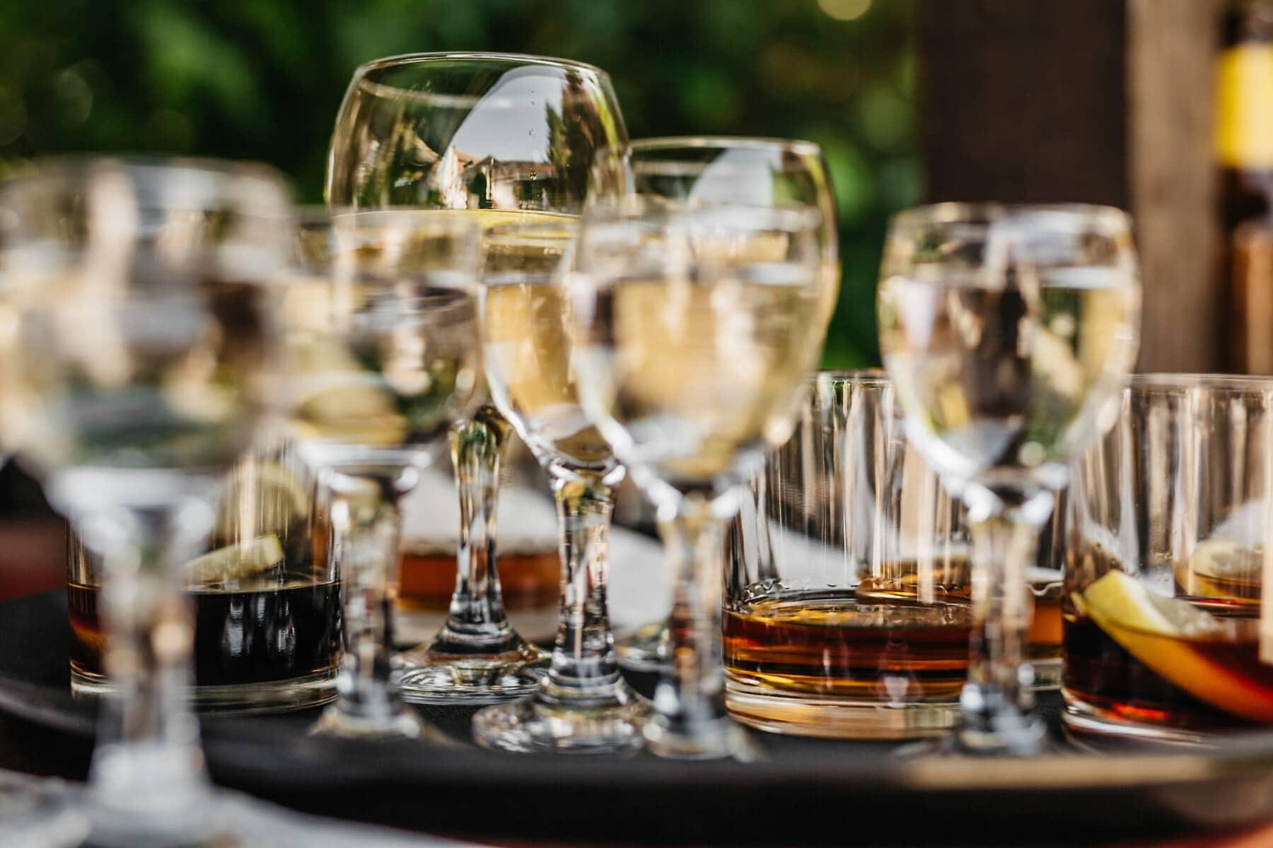 вино, партия, бяло вино, коктейли, стъкло, алкохол, напитка, напитки, празник, шампанско