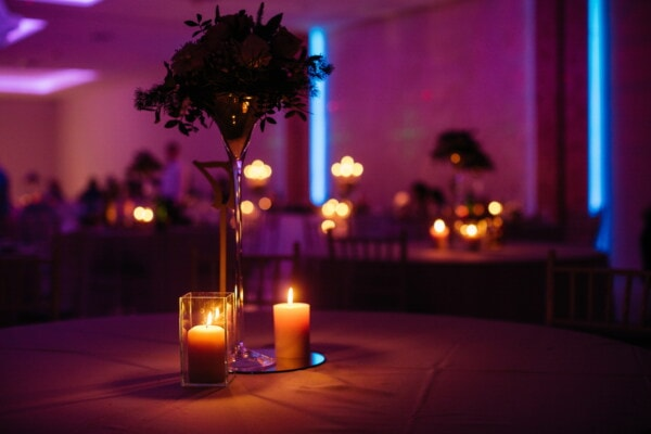 romantic, candlelight, atmosphere, glass, crystal, candlestick, evening, table, light, structure