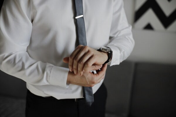 wristwatch, luxury, analog clock, manager, outfit, man, business, indoors, success, intelligence