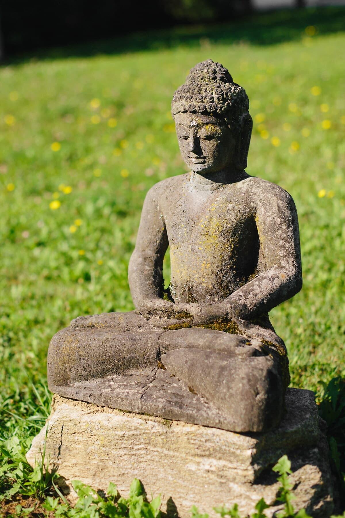 Буддизм, Медитация, Будда, скульптура, Zen, религия, статуя, камень, Культура, храм