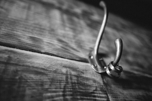 planks, wooden, hanger, jewelry, rings, hanging, hook, monochrome, fastener, sepia