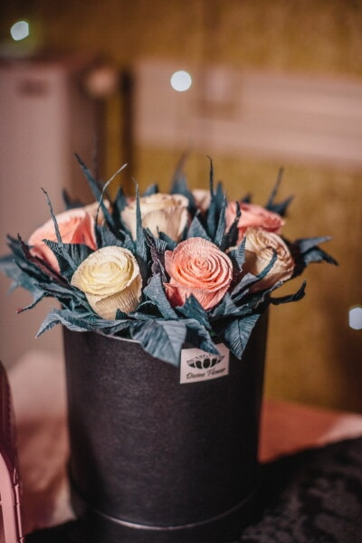 paper, artistic, bouquet, pastel, roses, love, flower, romance, nature, rose