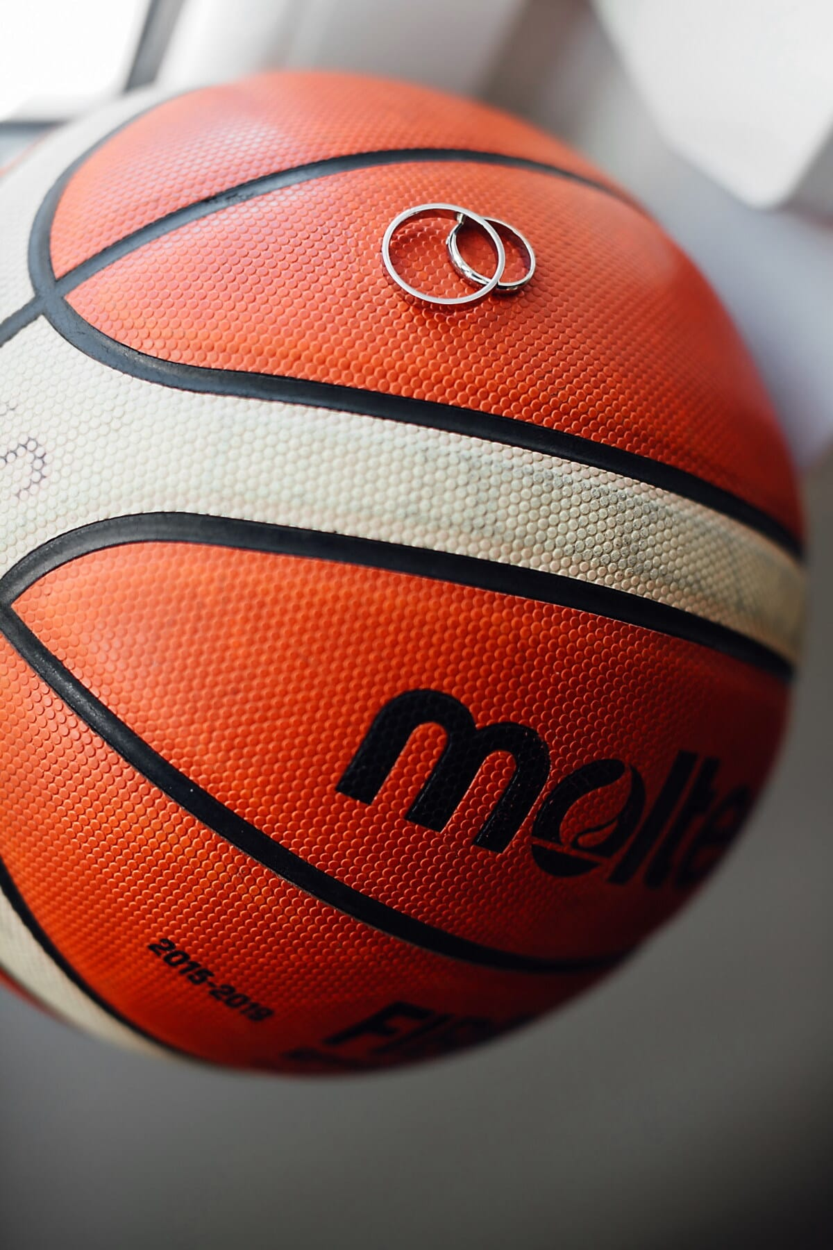 basketball, ball, wedding ring, jewelry, rings, sport, game, competition, leisure, indoors