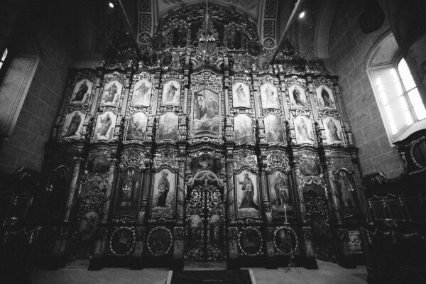 altar, saint, medieval, russian, church, orthodox, cathedral, religion, art, architecture