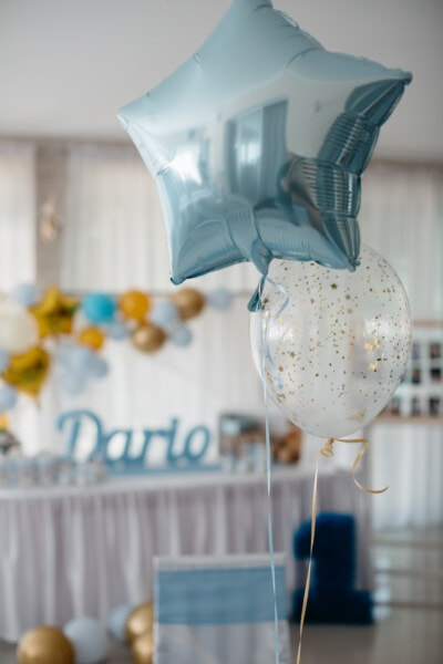 party, birthday, helium, balloon, fun, celebration, decoration, decorative, interior decoration, shape