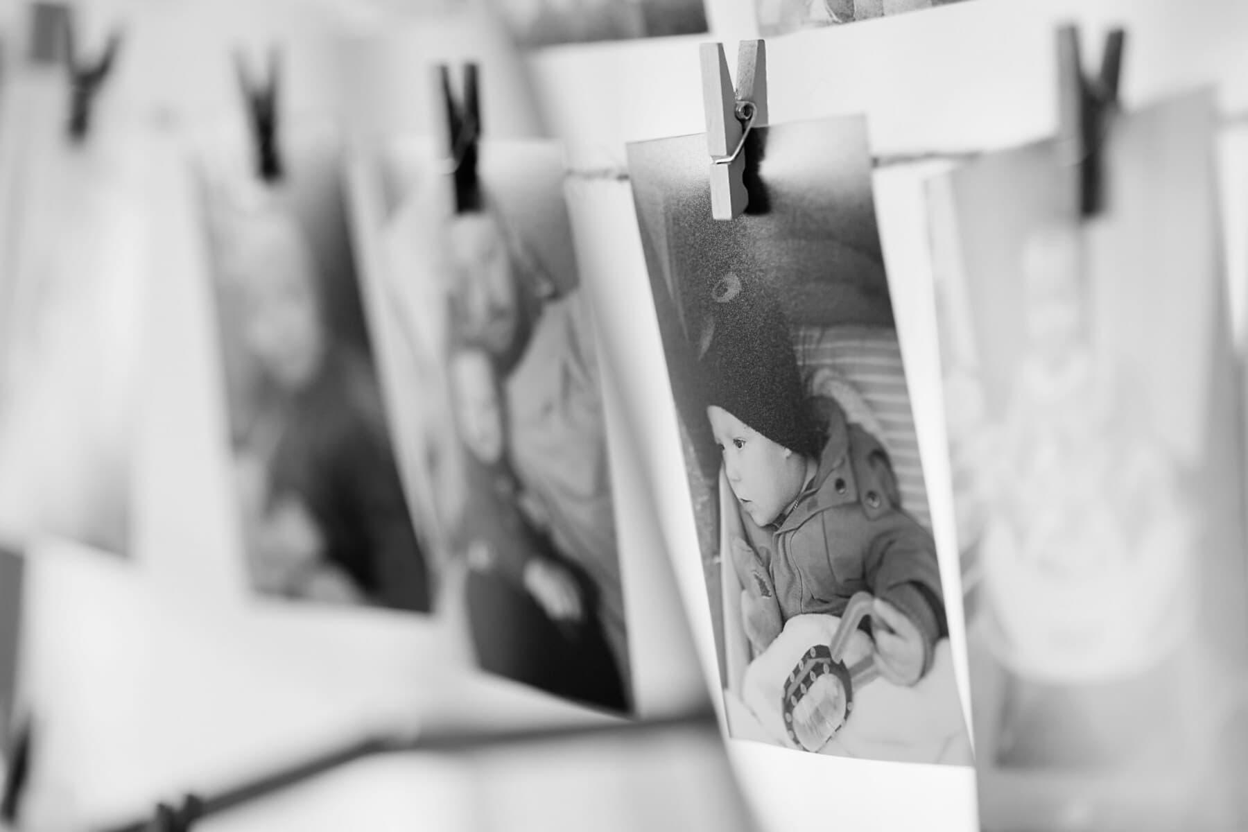 memorabilia, photo, nostalgie, noir et blanc, photo, famille, photo, studio photo, photographie, bébé