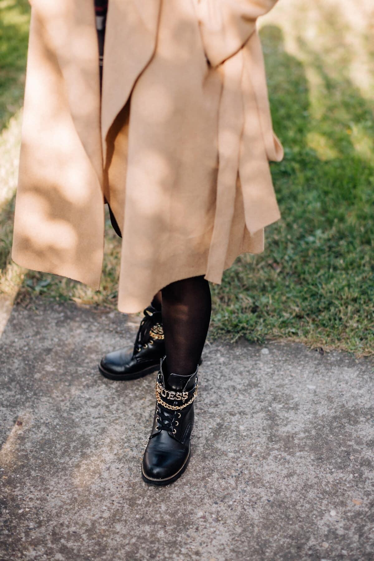 Stiefel, Lust auf, Beine, junge Frau, Socken, Schwarz, Nylon, Mädchen, Schuhe, Mode