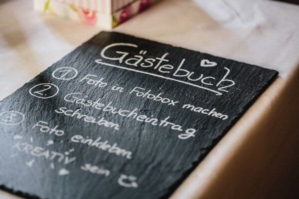 german, alphabet, text, language, black and white, blackboard, white, message, chalk, business