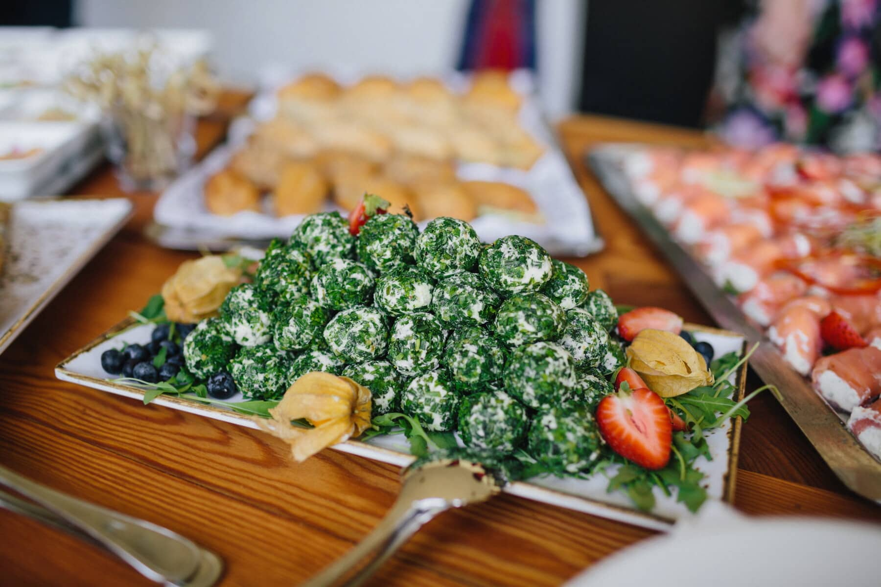 organic, spinach, buffet, appetizer, cheese, salad bar, vegetables, dish, dinner, meal