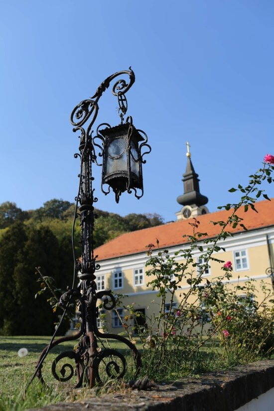 handmade, cast iron, lantern, old fashioned, iron, baroque, church, architecture, building, old
