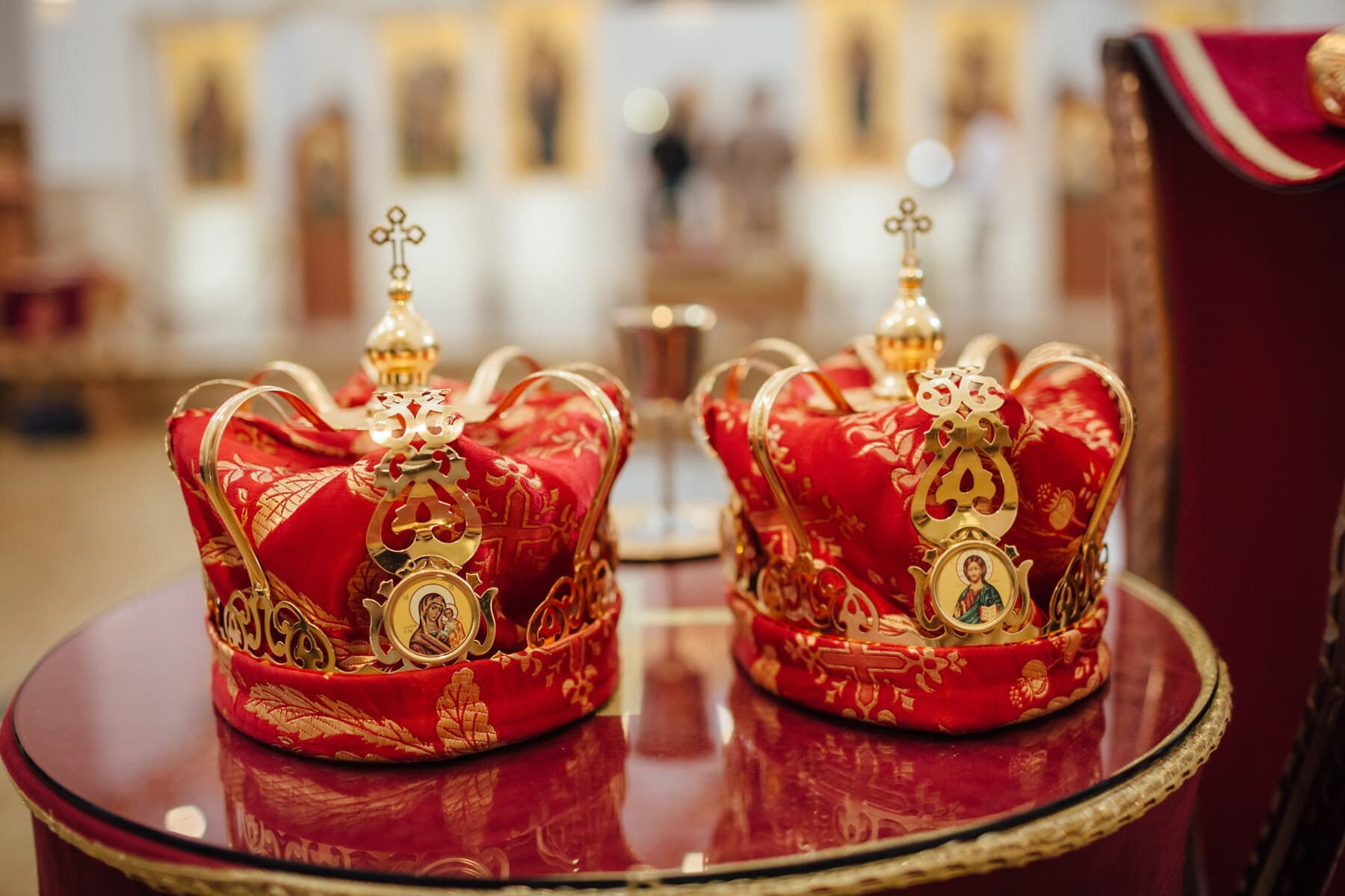 éclat doré, Couronne, or, couronnement, religion, mariage, baptême, Imperial, royalties, décoration