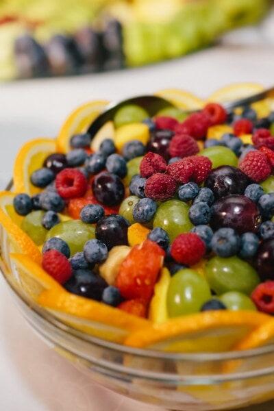 frugt, bær, druer, lækker, bær, mad, sød, blåbær, sundhed, brombær
