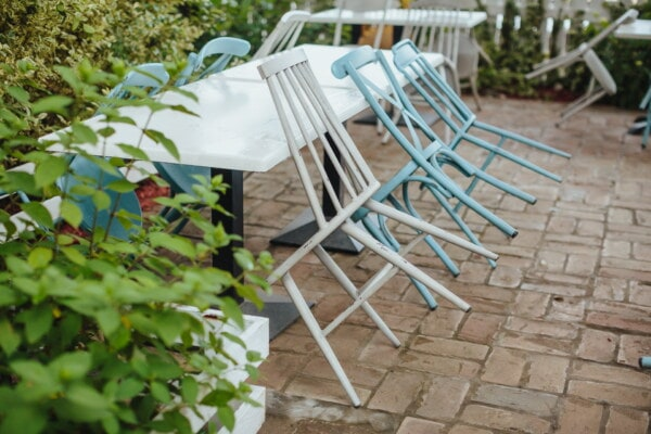 garden, metal, table, chairs, furniture, vintage, seat, chair, patio, outdoors