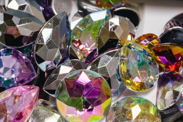 colorful, crystal, jewel, many, shining, emerald, bright, jewelry, precious, amethyst