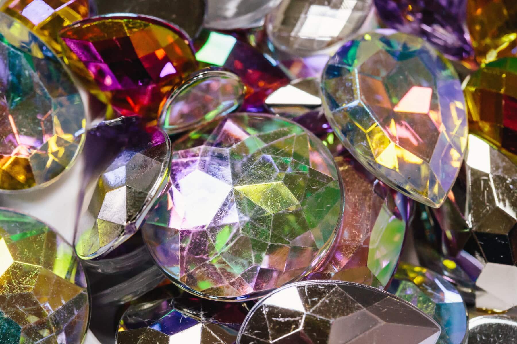 coloré, crystal, bijou, verre, bijoux, brillant, brillante, précieux, luxe, Améthyste