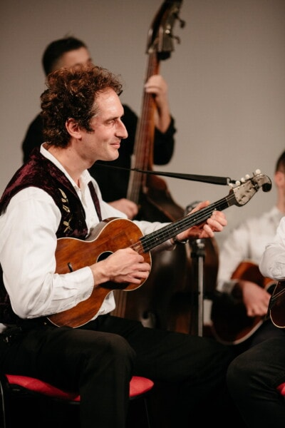 classic, acoustic, guitar, orchestra, guitarist, artistic, singer, music, musician, instrument