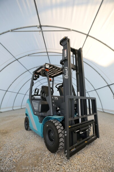 gaffeltruck, industri, lager, køretøj, transport, maskine, maskiner, tunge, hjulet, forretning