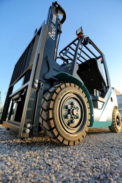 gaffeltruck, parkeringsplads, køretøjer, industri, fabrikken, transporten, transportere, maskiner, maskine, køretøj