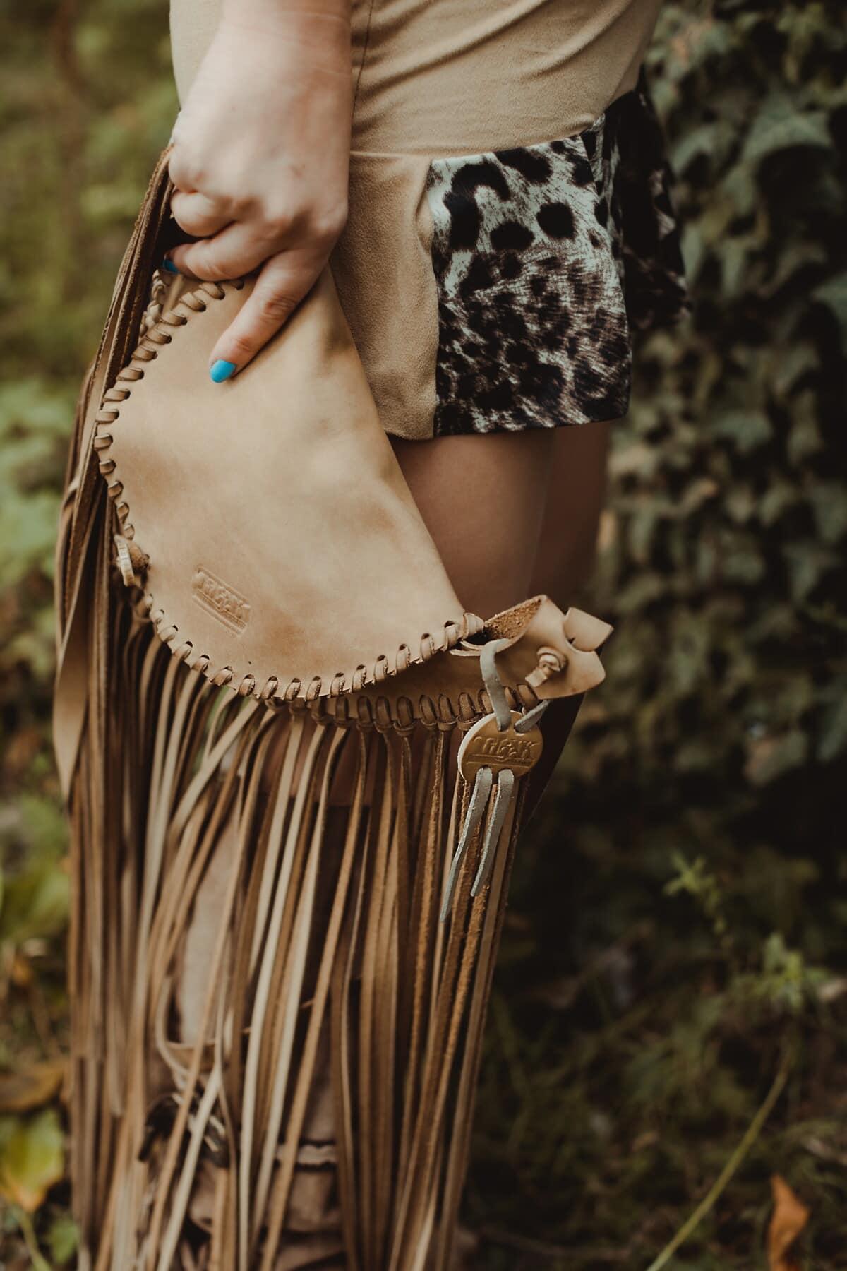 håndlavede, håndtaske, indiske, stil, gammel stil, mode, tøj, kvinde, attraktive, natur
