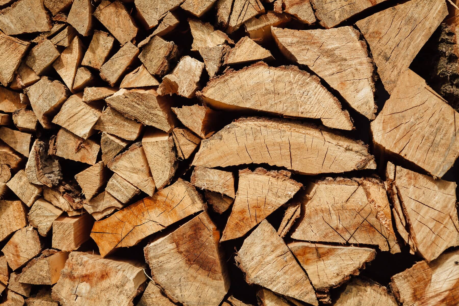 firewood, hardwood, rough, bark, texture, wood, nature, tree, dry, forestry