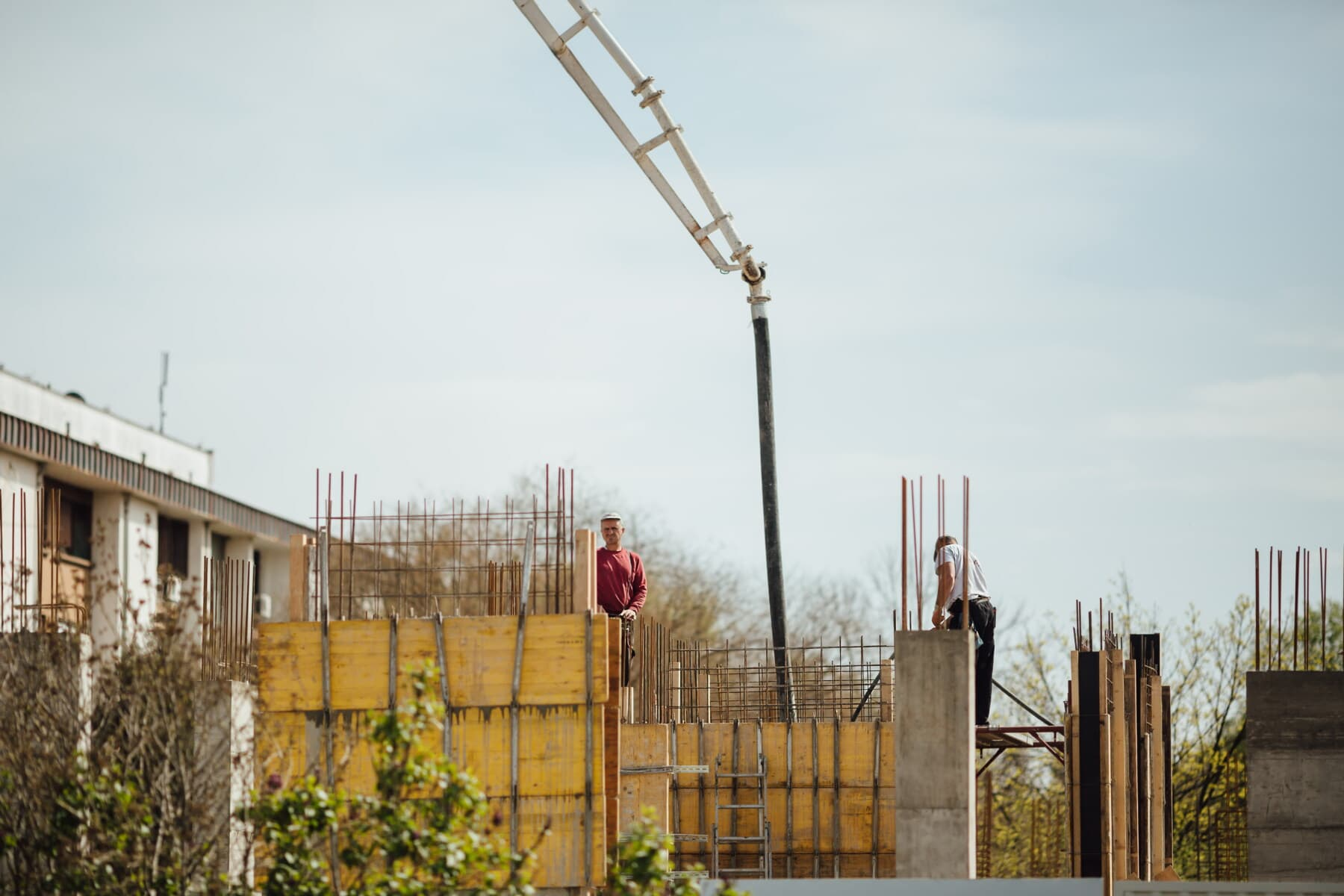 construction worker, construction, buildings, workplace, workers, employment, engineering, building, equipment, industry