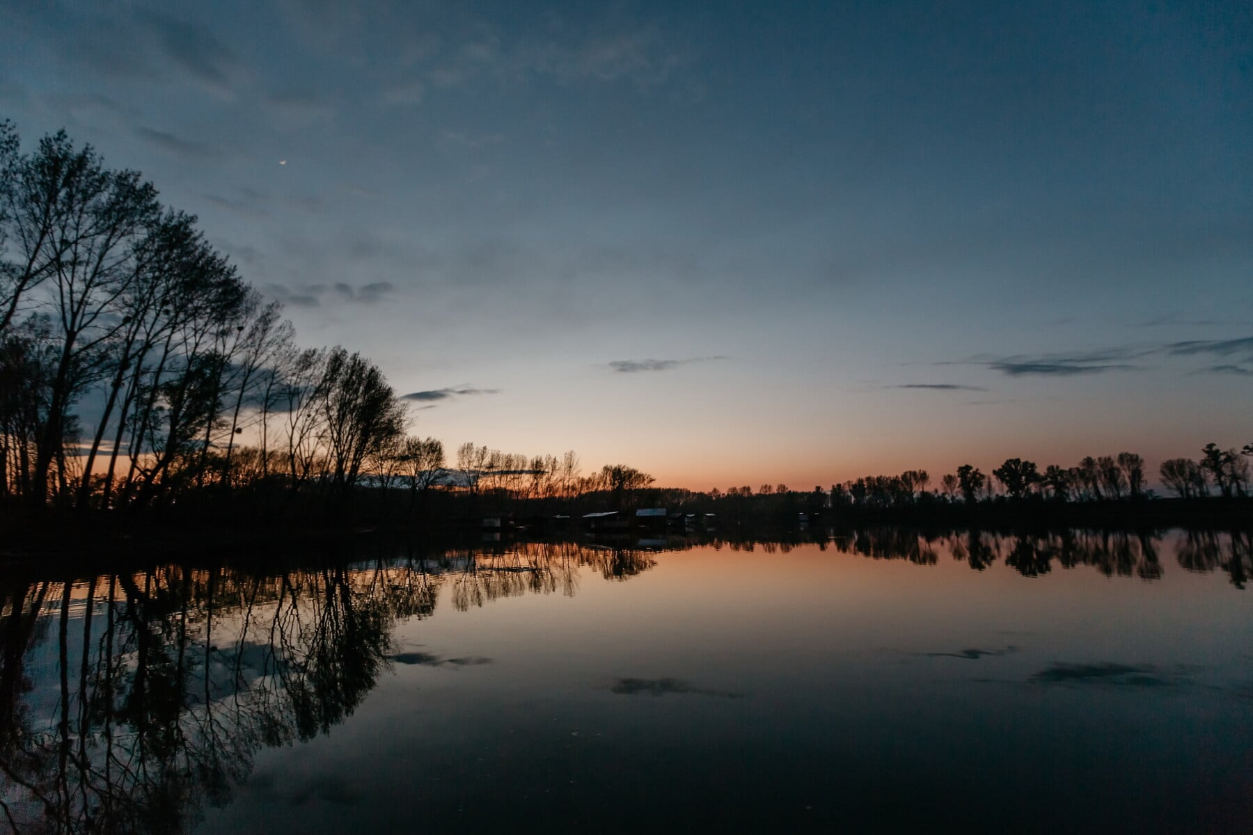 atmosphere, landscape, nature, calm, sunrays, lakeside, dawn, lake, water, sunset