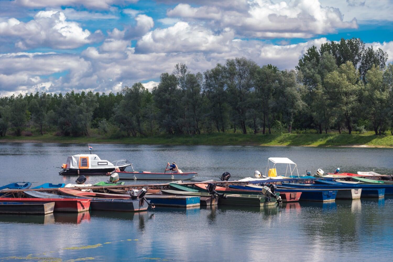 rivière, bateaux, jetée, canal, Marina, bateau, eau, Lac, embarcation, des loisirs