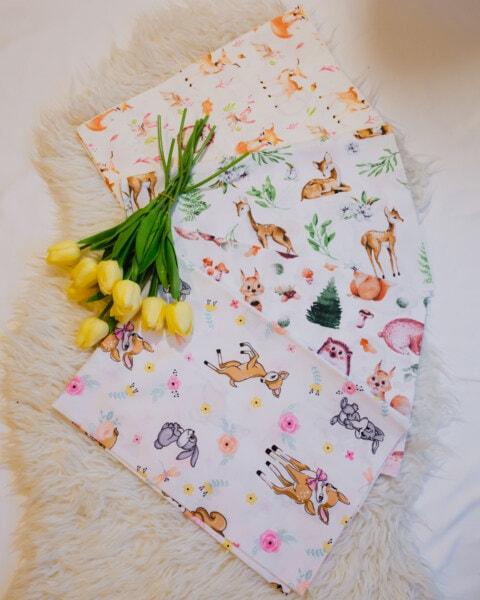 Jaune, tulipes, coloré, tissu, mouchoir, conception, fleur, légume, couleur, feuille
