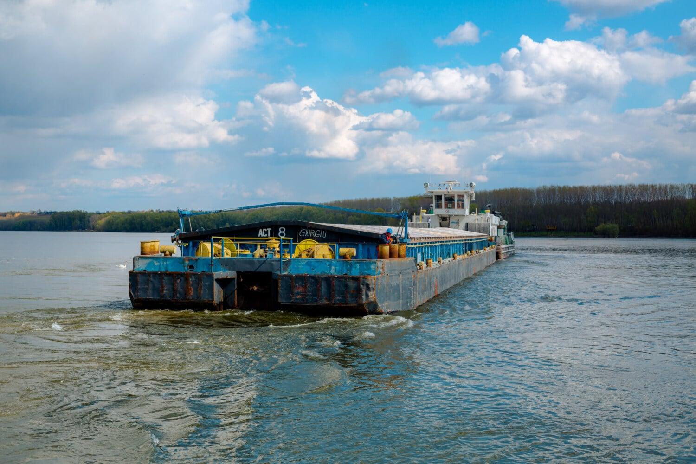 Cargo, transport, transport, secteur d'activité, gros, lourdes, eau, amphibiens, bateau, embarcation