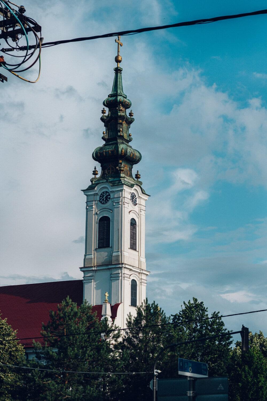 église, orthodoxe, steeple, style, baroque, bâtiment, tour, religion, architecture, Ville