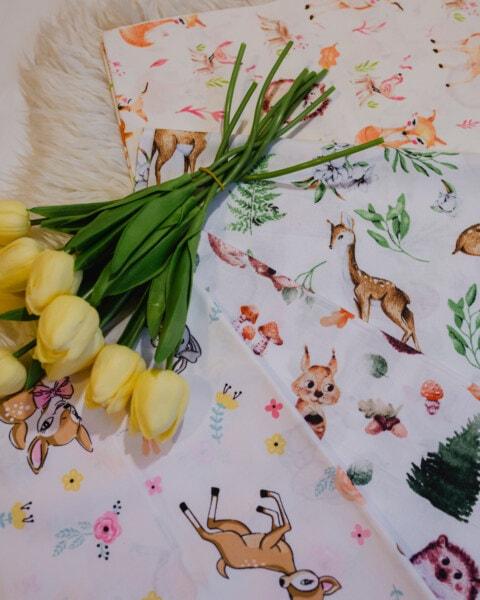 黄色, チューリップ, ハンカチ, 葉, 自然, 花, 装飾, 花束, チューリップ, レトロ