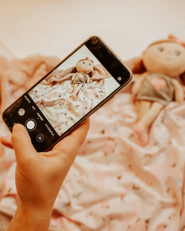 camera, mobile phone, digital camera, photo studio, photography, doll, toys, technology, mobile, telephone