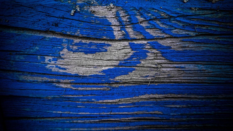 bois, peinture, texture, bleu, bleu foncé, couleur, bois franc, en bois, nœud, planche
