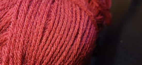 вълна, червен, фибри, нишка, детайли, едър план, плетиво, трикотаж, макрос, ръчно изработени