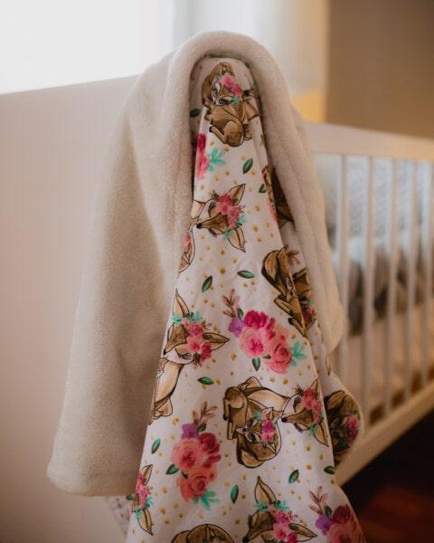 卧室, 宝贝, 床上, 时尚, 织物, 美丽, 室内, 优雅, 可爱, 风格