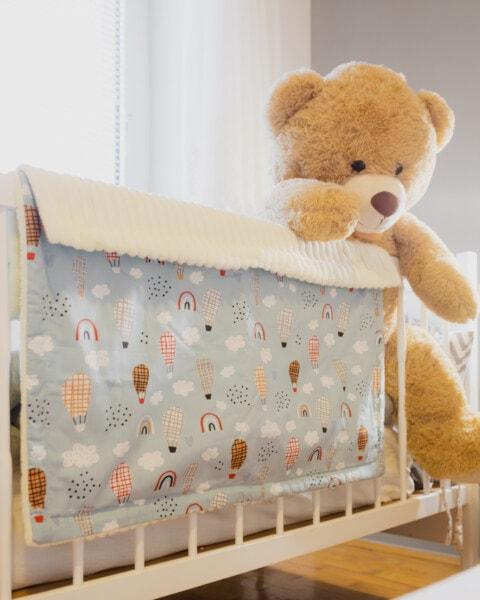 hellbraun, Teddybär Spielzeug, Spielzeug, groß, Decke, Bett, Schlafzimmer, Baby, Zimmer, niedlich