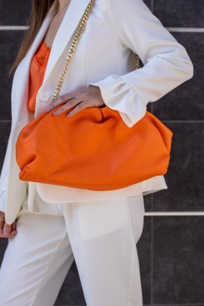 elegance, businessperson, fancy, outfit, white, businesswoman, handbag, orange yellow, fashion, luxury