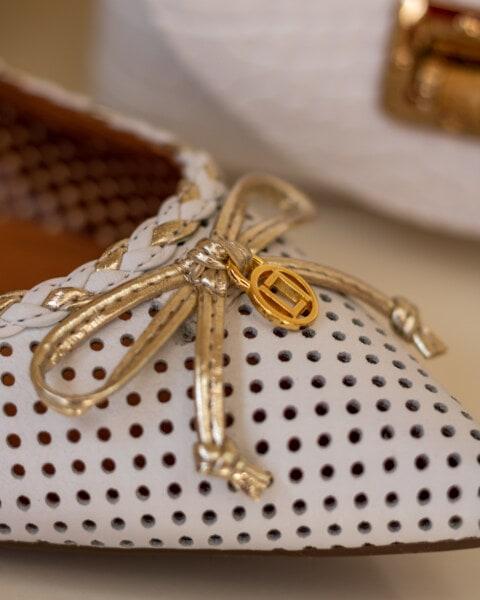 Klassiker, Sandale, aus nächster Nähe, Schuh, weiß, Produkt, Einkaufen, Details, Schnürsenkel, Luxus