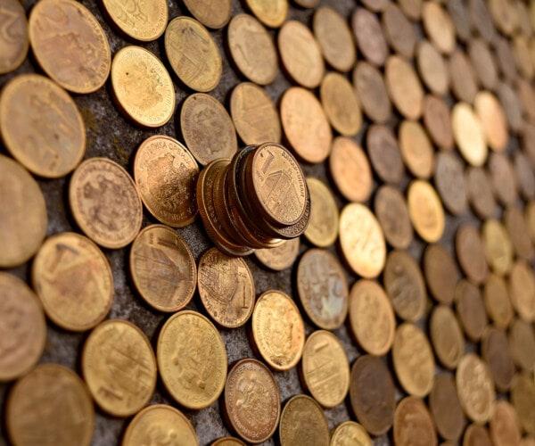 통화, 돈, 금속, 세르비아, 동전, 포춘, 투자, 풍부한, 현금, 스택