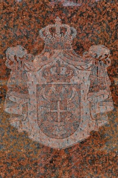 Demokratie, Krone, Serbien, Zeichen, Symbol, Monarch, Königreich, Erbe, Marmor, Reflexion