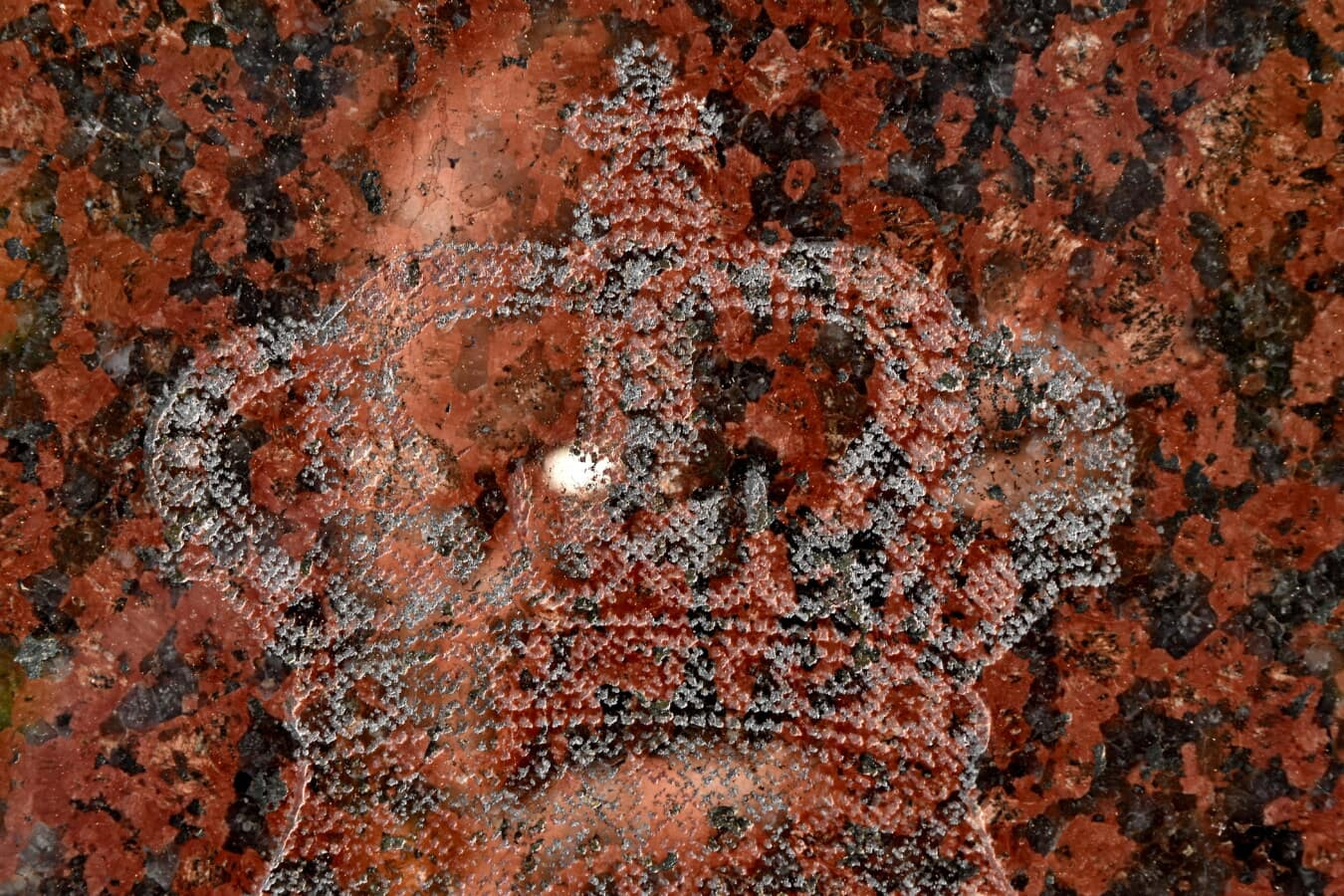 Couronne, marbre, sculptures, patrimoine, symbole, royaume, structure, vieux, texture, sale