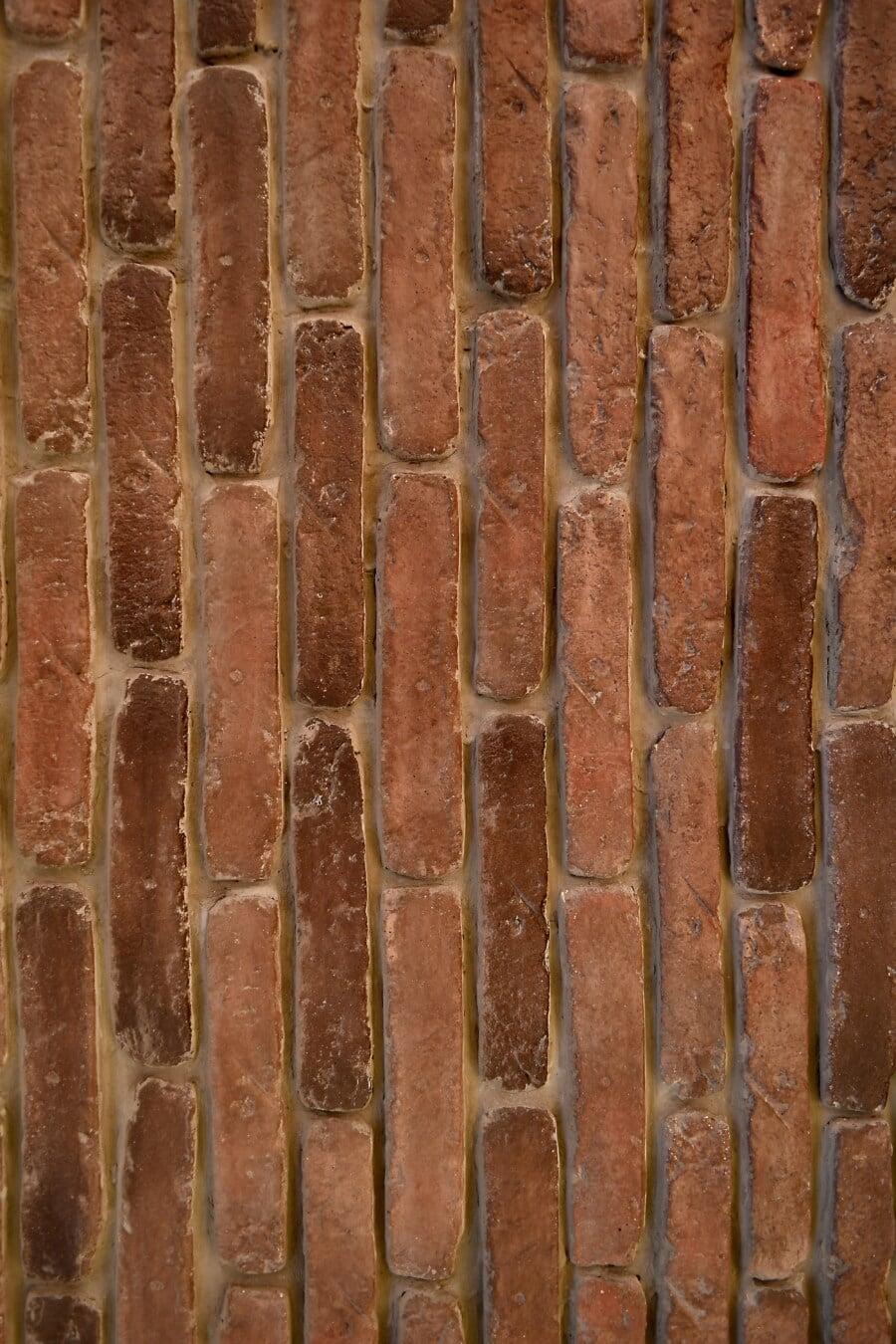 masonry, bricks, mortar, vertical, surface, wall, texture, pattern, old, brick