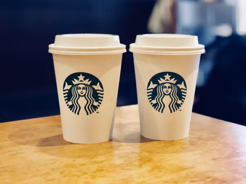 Kaffee, Kaffeetasse, Kunststoff, paar, Design, Symmetrie, Tasse, Geschirr, Trinken