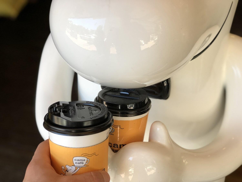 Kaffee, Kaffeetasse, Kunststoff, Robot, Gerät, moderne, futuristisch, Frühstück, Koffein, Cappuccino