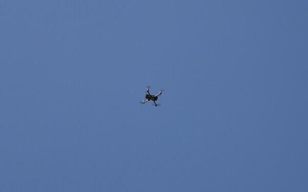dron, αέρα, όχημα, αεροσκάφη, πτήση, που φέρουν, γρήγορη, μπλε του ουρανού, συσκευή, υψηλή